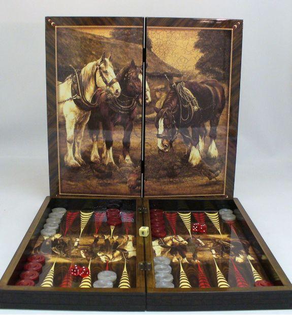 Beautiful Chang E 3: Beautiful Backgammon Set