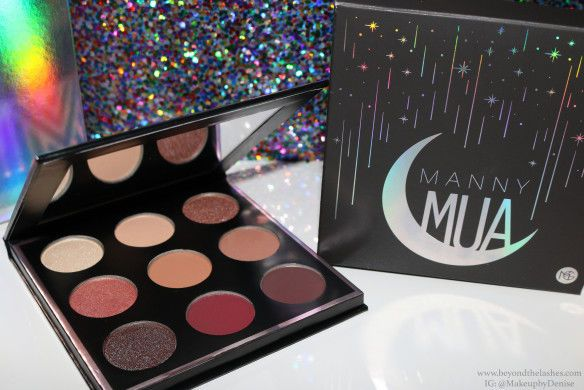 Manny MUA Eyeshadow Palette Makeup Geek 9 Colors 2017 LIMITED EDITION  #MakeupGeek