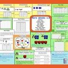 This is an Interactive Notebook 11 file with 26 junior math pages.  Pg 1-4 Growing patterns (interactive lessons and printable worksheets) Pg 5-6 W...