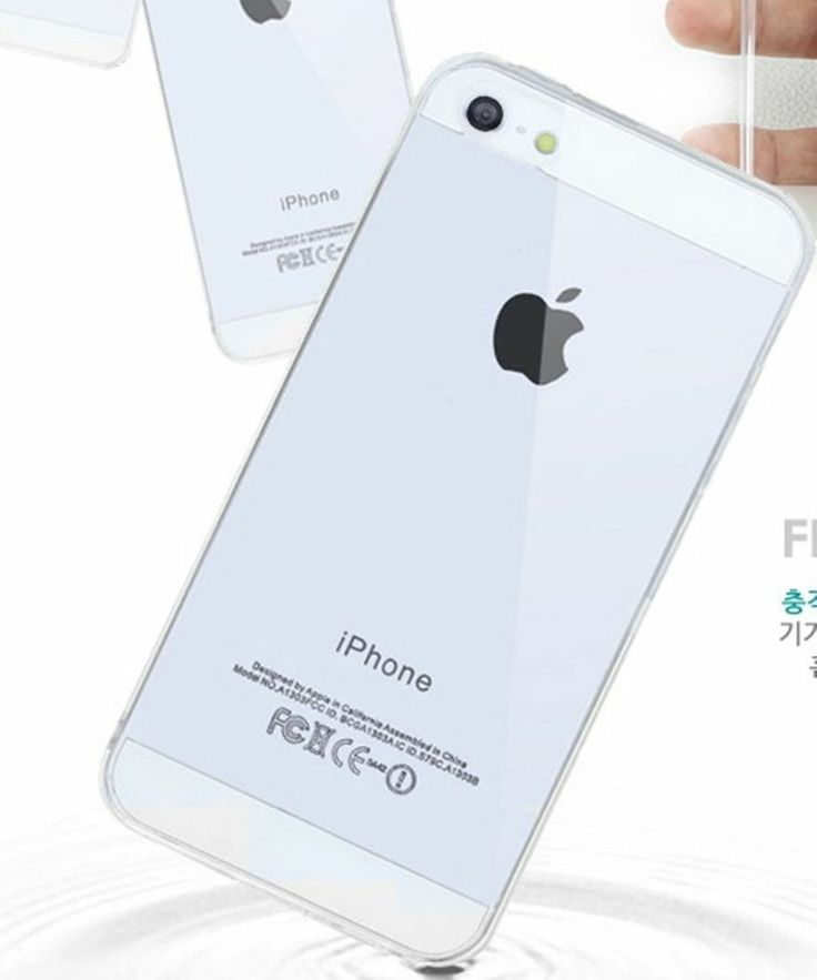 New Apple iphone 5/S5 SILICONE Crystal TRASPARENTE PROTECTOR Clear COVER CASE