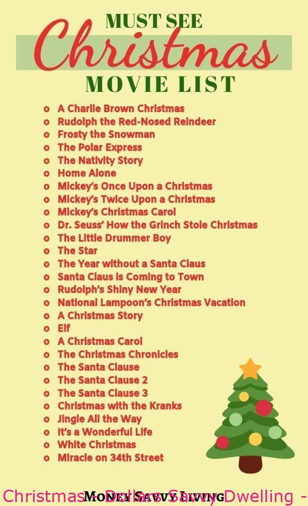 Christmasmovies Advent Calendar Ideas For Christmas Dollars Savvy Dwelling Impressi In 2020 Classic Christmas Movies Christmas Movie Night Christmas Movies List