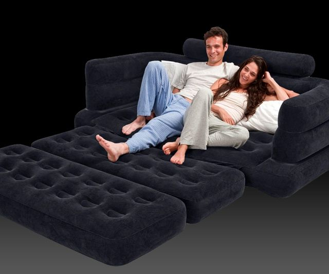inflatable pullout sofa