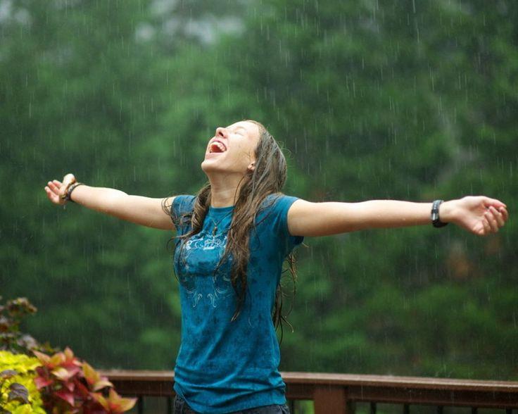 imparare ad essere felici anche quando piove!