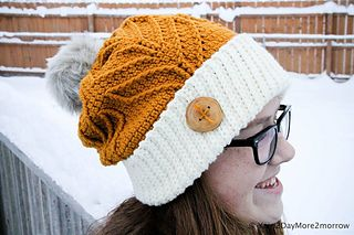 Crochet Pattern: Matterhorn Ski Slouch by A Crocheted Simplicity