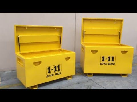 Site Boxes 1-11 The Perfect On Site Toolbox - SITEBG & SITETWOBG - YouTube