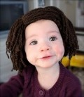 Free crochet wig patterns, perfect for Halloween or picture taking.