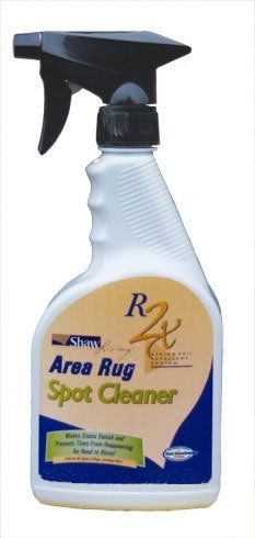 Shaw 22 oz. R2x Area Rug Spot Cleaner by Shaw R2x Area Rug Spot Cleaner. $9.99. If you've been looking for an easy way to care for your floors, you'll love R2X! R2X Carpet Stain & Soil Remover gets rid of tough household spills and stains on carpet. When Shaw the worlds largest carpet manufacturer first introduced our patented and exclusive R2X stain and soil repelling system in 2001 after years of research and testing, it quickly became the industrys fastest-gro...
