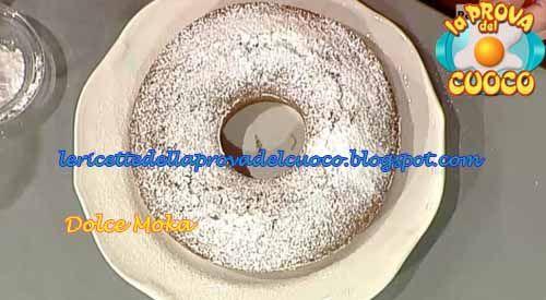 """Le ricette della Prova del Cuoco: Dolce moka: ricetta di Alessandra Spisni da """"La Prova del Cuoco"""""""