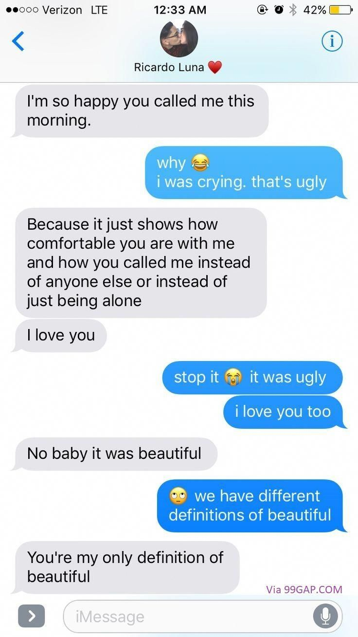 #LOL: Funny Text Between Two Lovers #lovetextmessages