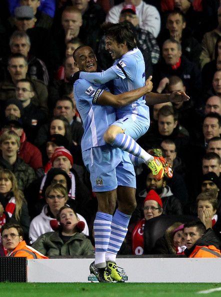 David Silva - Liverpool v Manchester City - Premier League