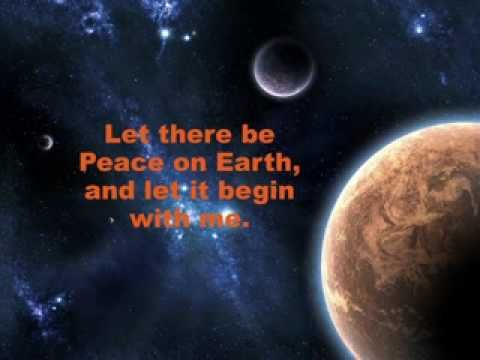 Let There Be Peace On Earth Hymn 25+ best ideas ...