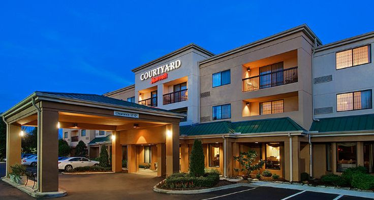 The Newly Renovated Courtyard By Marriott Asheville Hotel Near Biltmore Estate Is Located Blocks From