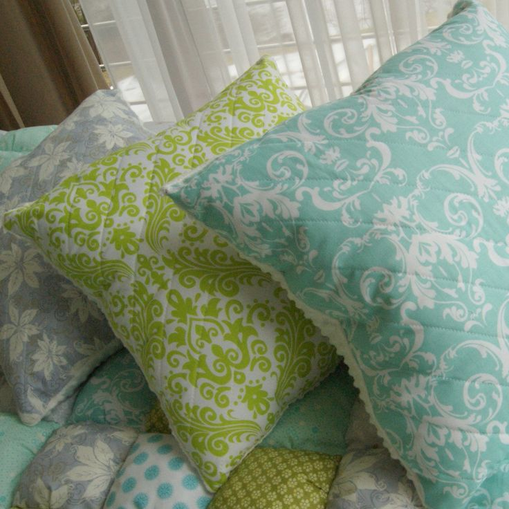 Quilted pillows