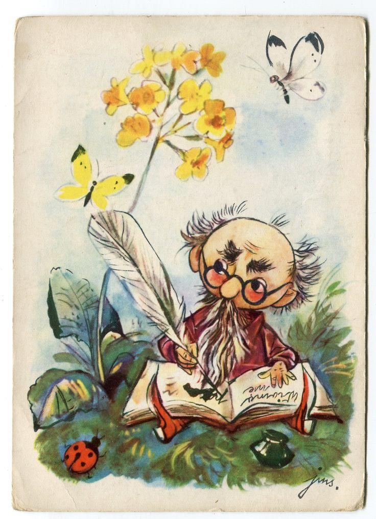 Jan Marcin Szancer (1902–1973) Illustration, 1961