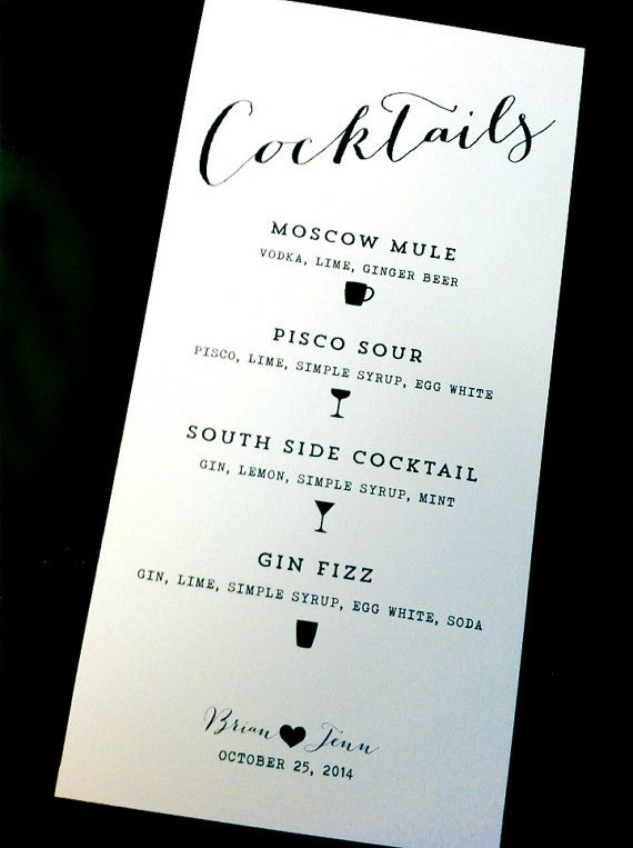 Best 25 cocktail menu ideas on pinterest for Cocktail 69 special