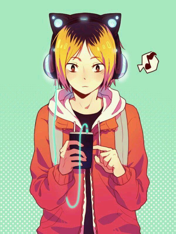 Kozume Kenma [Nekoma] Anime: Haikyuu!!          Character by Haruichi Furudate       Artwork not by me