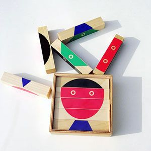 """block n Block"" a child's toy by Katsumi Komagata"