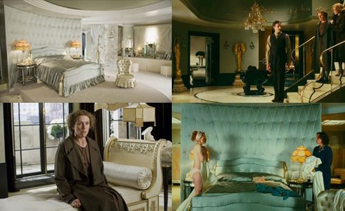 Art Deco decor from the movie Miss Pettigrew Lives for a Day