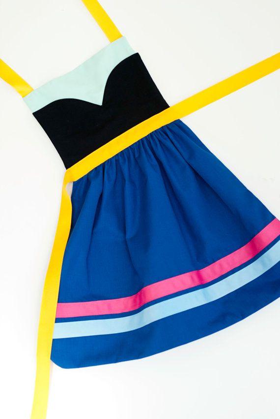 more simple Frozen Anna dress idea