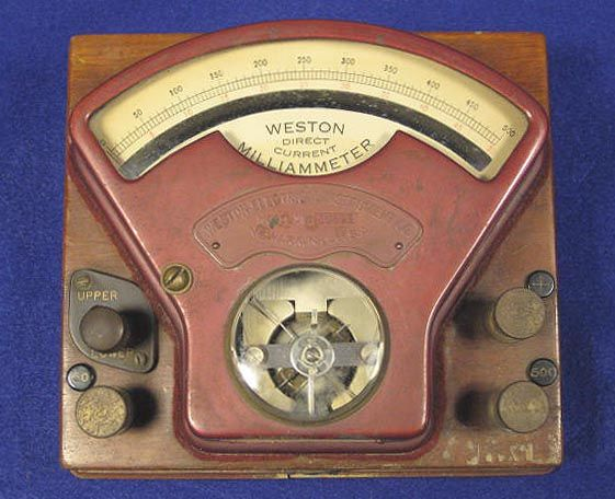 Vintage Electrical Measuring Instruments : Best images about test equipment on pinterest auction