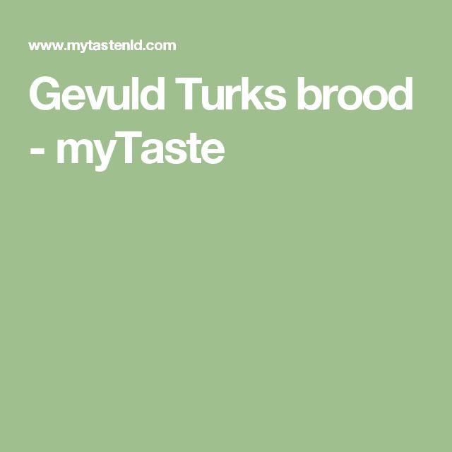 Gevuld Turks brood - myTaste