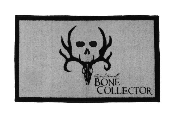 Bone Collector Black Bath Mat - Sheplers