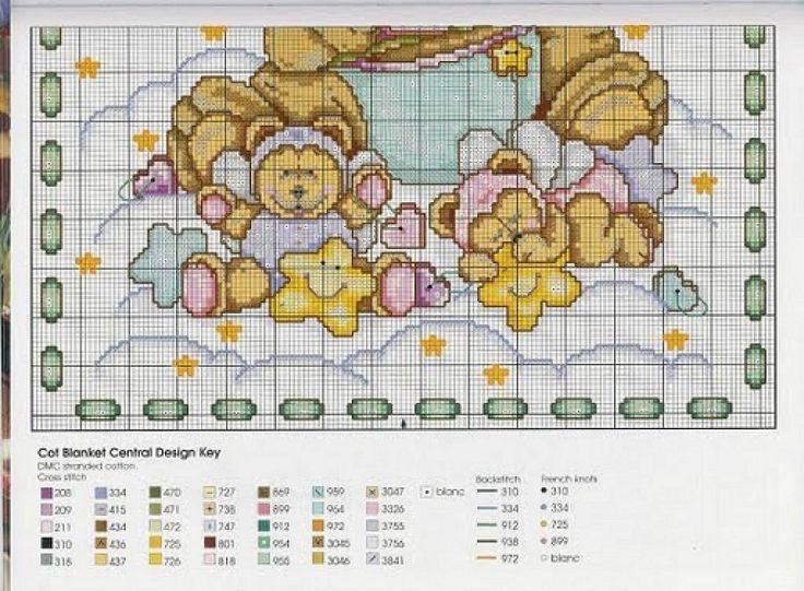 GRAFICOS INFANTILES PUNTO DE CRUZ (pág. 69) | Aprender manualidades es facilisimo.com