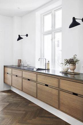 Floating Kitchen Cabinetry Gardehvalsoe Styling Gitte Christensen 4