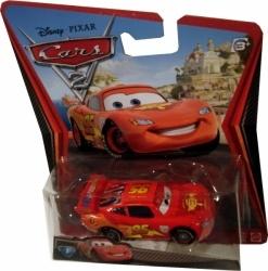 Masinuta metalica, scara 1:55, inspirata din filmul de animatie Cars 2. Varsta recomandata: +3 ani