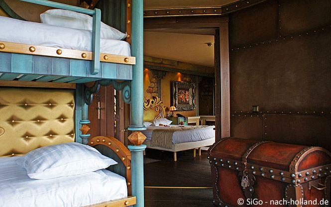 Da werden Kinderträume wahr - Übernachten in der Golden Suite im Efteling Hotel