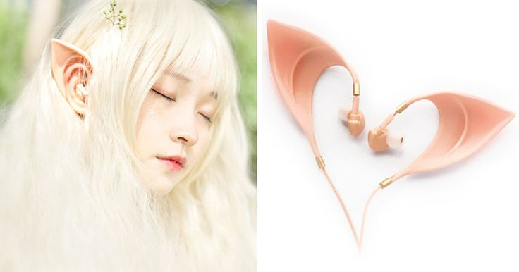 Want to enjoy your music in style? Then these earphones are just perfect for you! Elf earbuds!