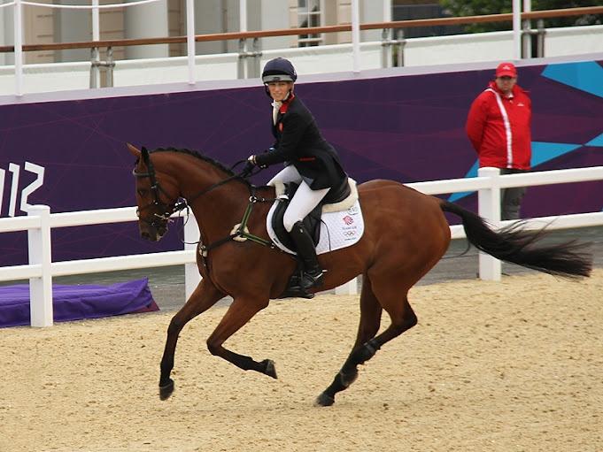 London 2012 Olympics Equestrian Event - Team GB - Zara Phillips  #Olympics # equestrian #London2012