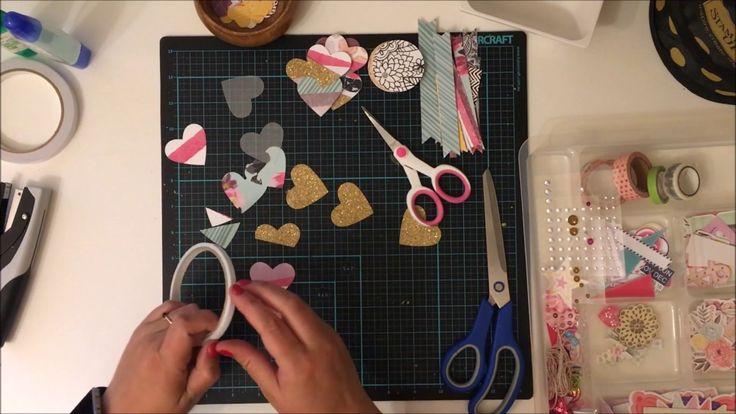 Diy Heart Embellishments - Kitaholic Kits