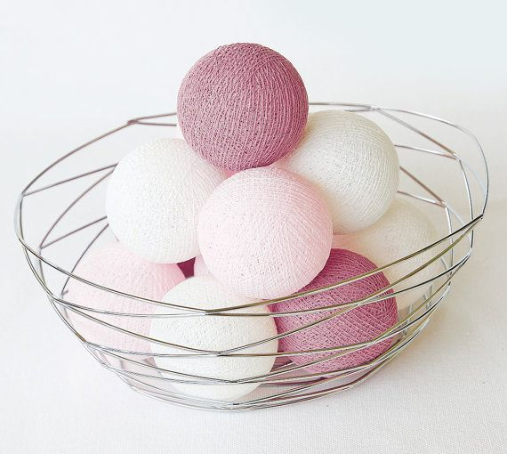 20 Loose Cotton Balls NOT INCLUDE Light String by LivingPastel