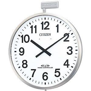 シチズン(CITIZEN)商品一覧 /掛け時計専門店ラヘンズクロック CITIZE/シチズン 10年電池式・屋外用電波壁掛け時計パルウェーブ【
