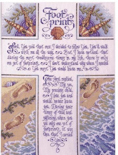 religious cross stitch free patterns   This is a favorite!
