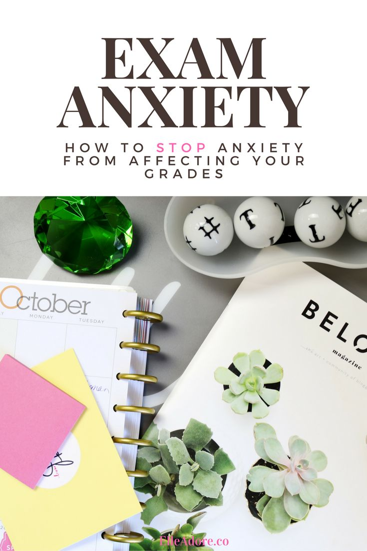 Struggle to combat anxiety during exams?