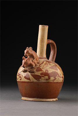 | Stirrup vessel with mice