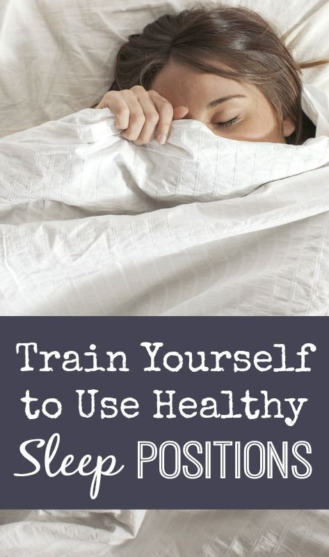 Train Yourself to Use Healthy Sleep Positions | Health gurug