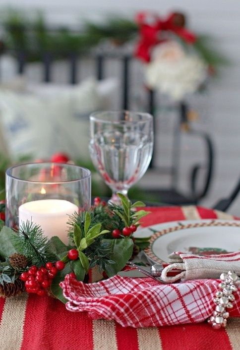 Decoration, Christmas Dining Table Decorations Landscape Ideas For Front  Yard: Easy 18 Outdoor Christmas