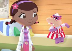 DoctoraJuguetesJuegos.com - Juego: Rompecabezas Hallie la Hipopotamo - Juegos de Puzzles de Doctora Juguetes Disney Jugar Gratis Online