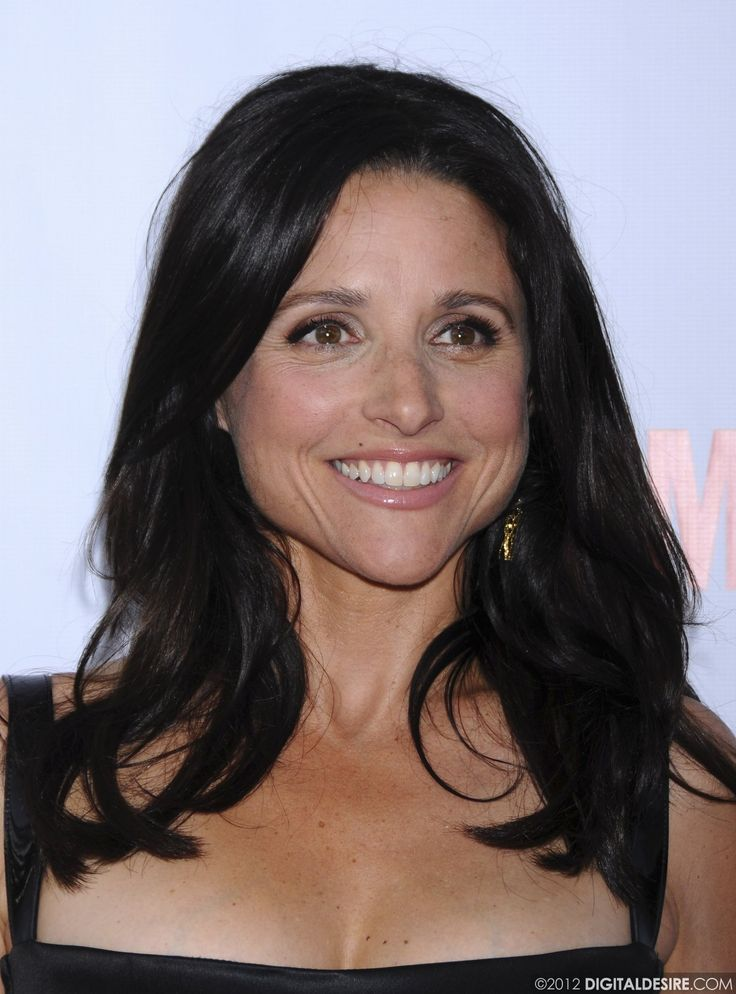 Julia Louis Dreyfus. Julia won the award for Outstanding Lead Actress in a Comedy Series for her role as Selina Meyer in Veep at the Emmys 2013