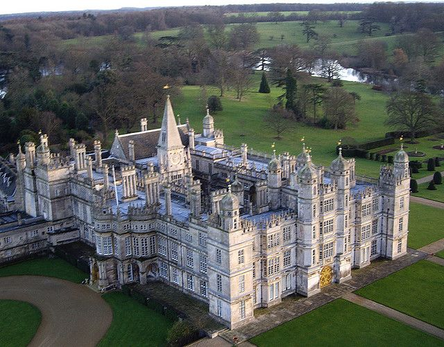 Burghley House, Lincolnshire, built 1558-1587 for Sir William Cecil, Lord High Treasurer for Elizabeth I.