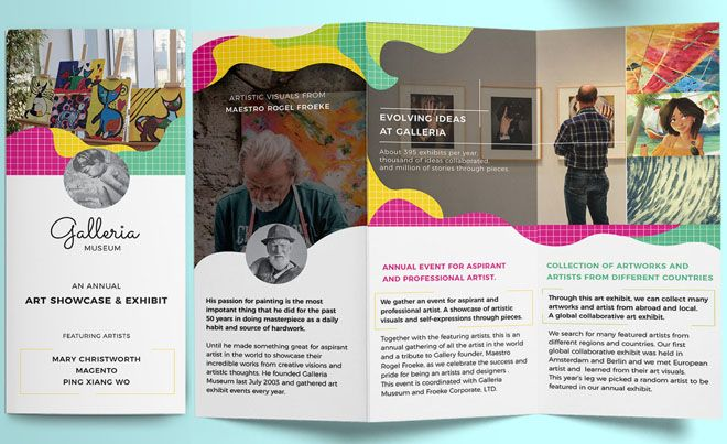 Best and Creative Brochure Design Ideas : Purpose of brochure may vary from business to business. Some are designed to display services, whereas others are focused on selling a product. Print design i