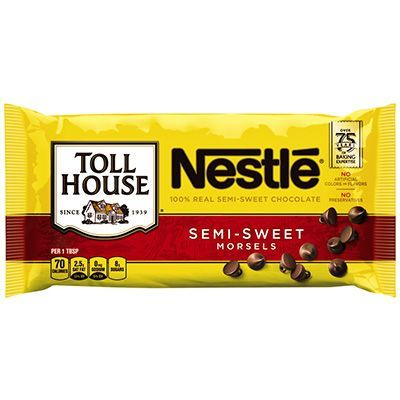 Original Nestle Toll House Chocolate Chip Cookies recipe - NESTLÉ® TOLL HOUSE® Semi-Sweet Chocolate Morsels