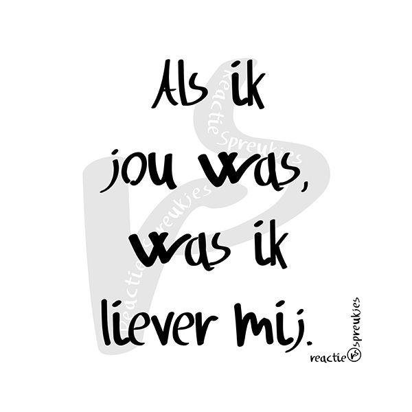 Als ik jou was