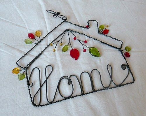 Home - wire decoration