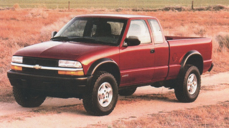 1999 Chevy S10 ZR2 . . .