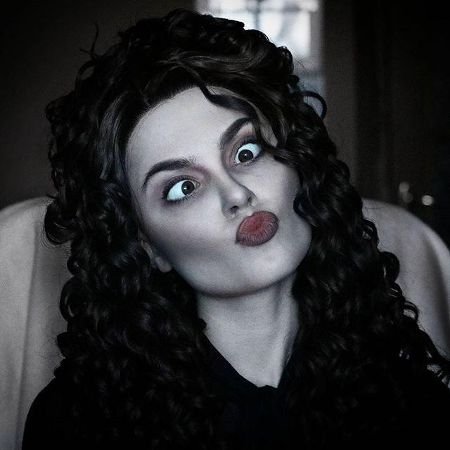 sladkoslava ilona bugaeva belatrix lestrange makeup artist
