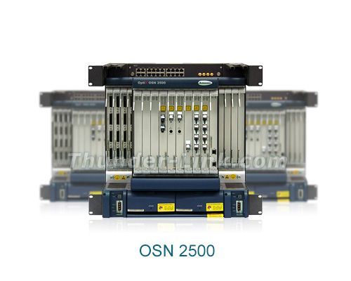 Developed by Huawei for highly efficient voice and data services transmission on a single platform, the OptiX OSN 2500 offers an intelligent, next-generation optical transmission solution. Used at the access and convergence layers of the Metropolitan Area Network (MAN), the OptiX OSN 2500 can also be networked with the other Huawei equipment to optimize customer investment.